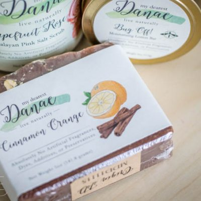 My Dearest Danae Handmade Soap