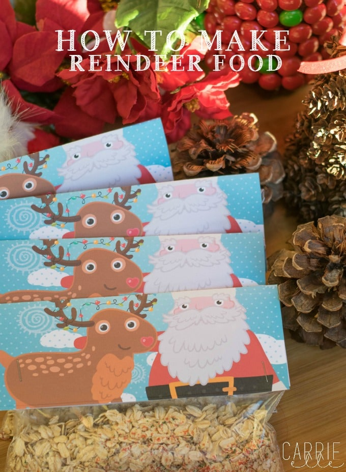 How to Make Reindeer Food