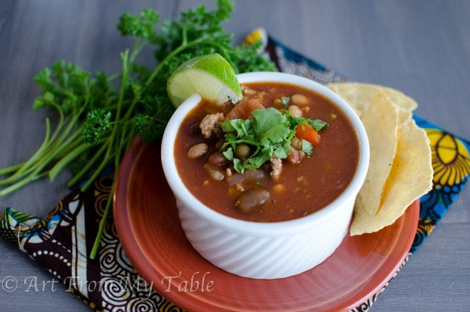 21 Day Fix Crock Pot Chili Recipe