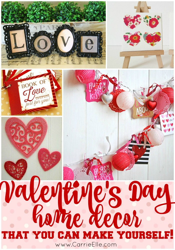 Diy Valentine 39 S Day Decorations Carrie Elle