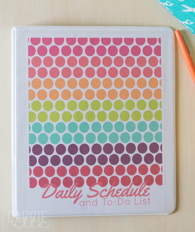 Printable Planner Cover