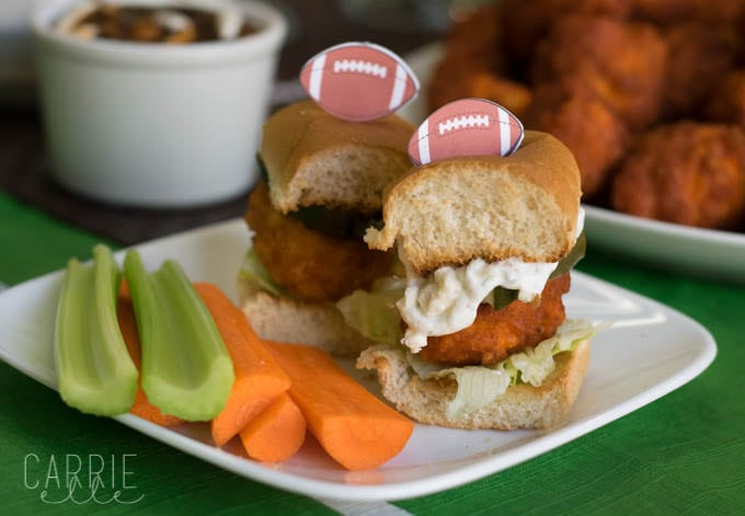 Boneless Chicken Wing Sliders Recipe is Perfect for Game Day!