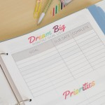 Printable Goal Setting Template