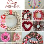 12 Simple Valentine's Day Wreaths