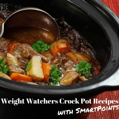25+ Weight Watchers Crock Pot Recipes with SmartPoints