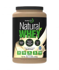 tub of whey powder