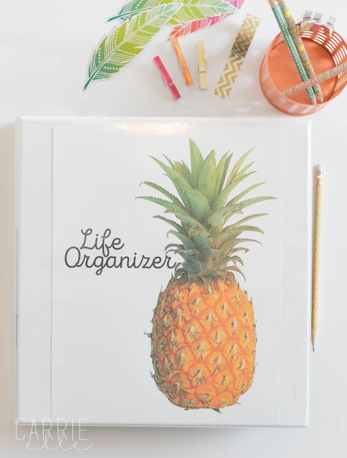 Printable Planner: Life Organizer