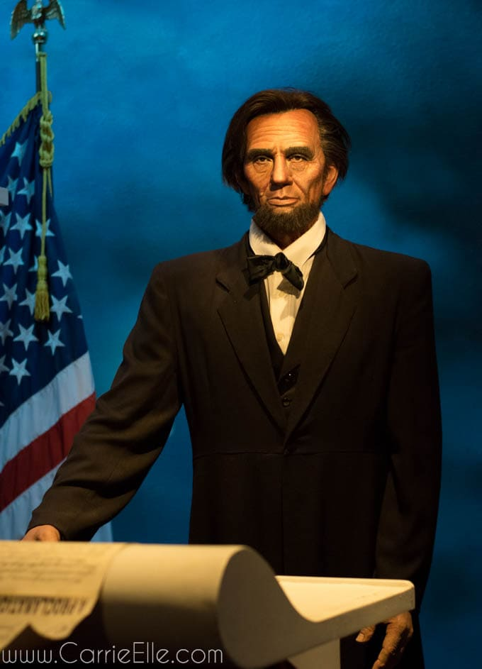 Wax Abraham Lincoln