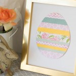Easy Scrapbook Paper Easter Egg