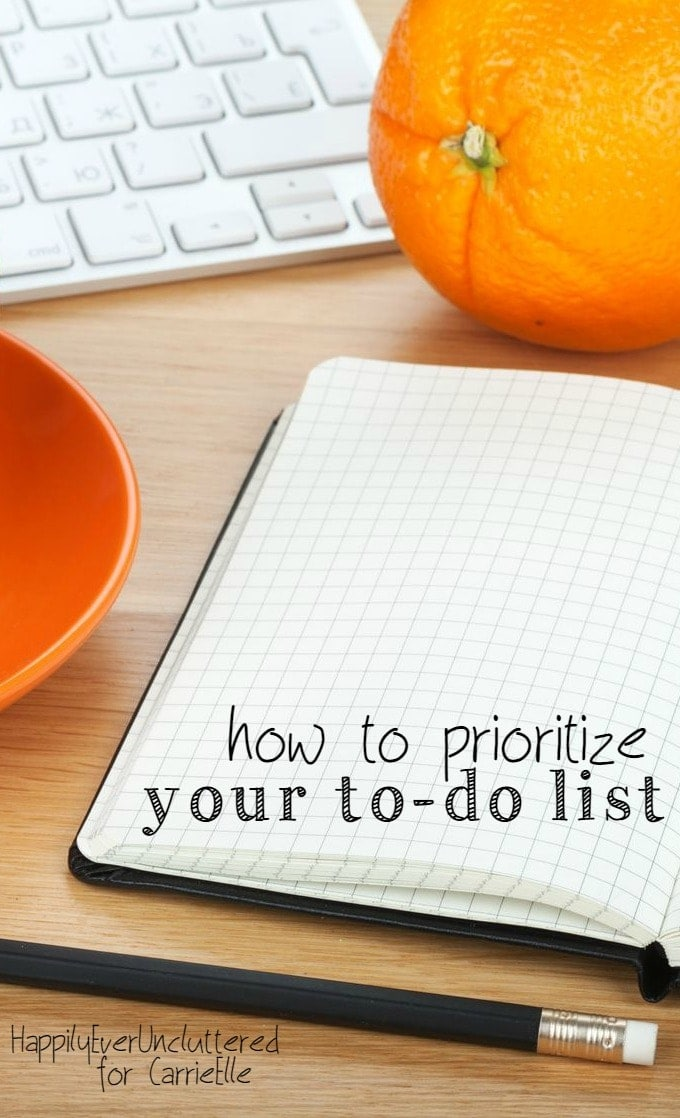 how to prioritize your to-do list