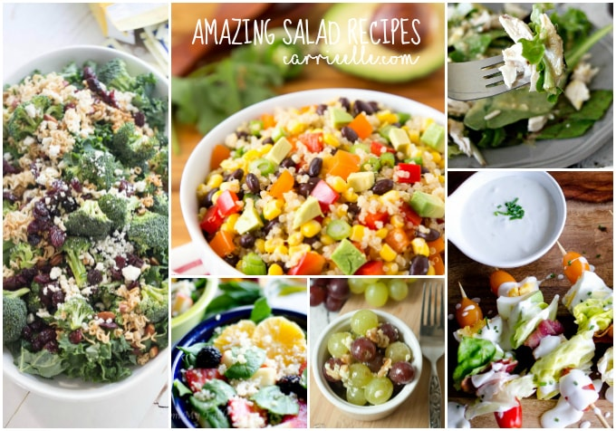 15 Easy Salad Recipes