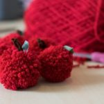 DIY Teacher Gift Ideas: Apple Pom Poms