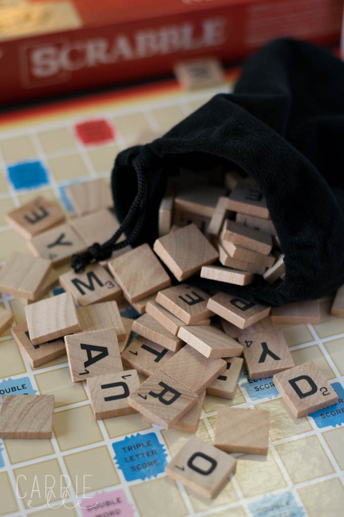 Printable Scrabble Letters Banner