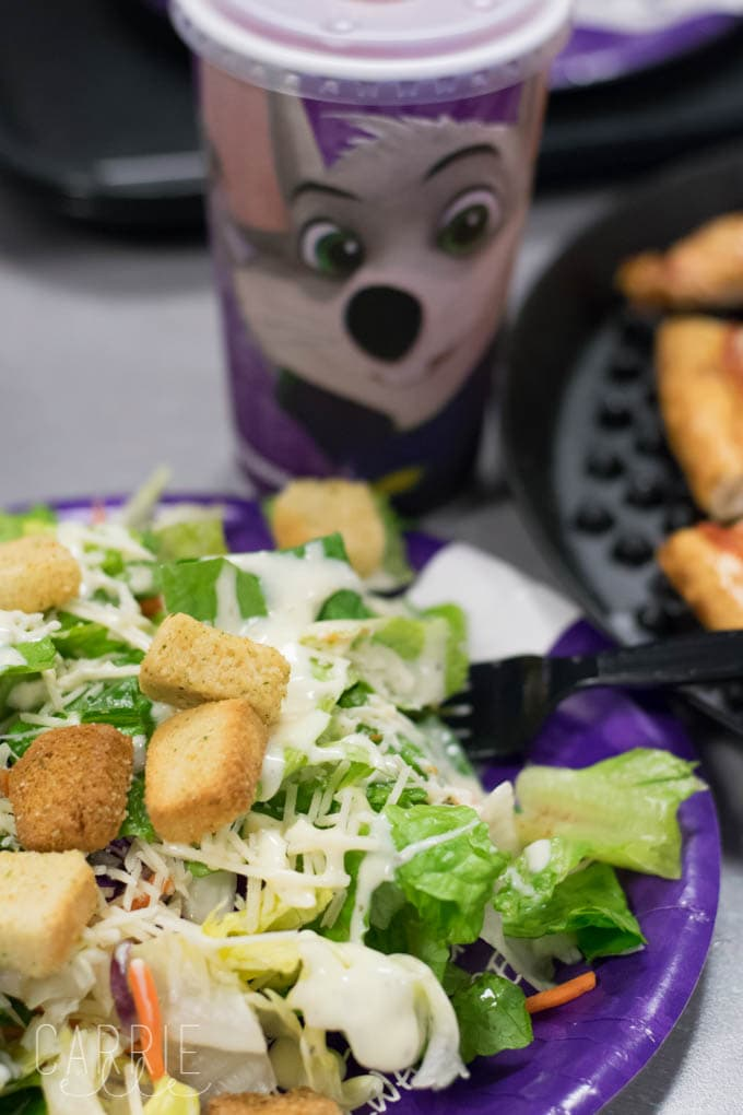 Chuck E. Cheese's Salad
