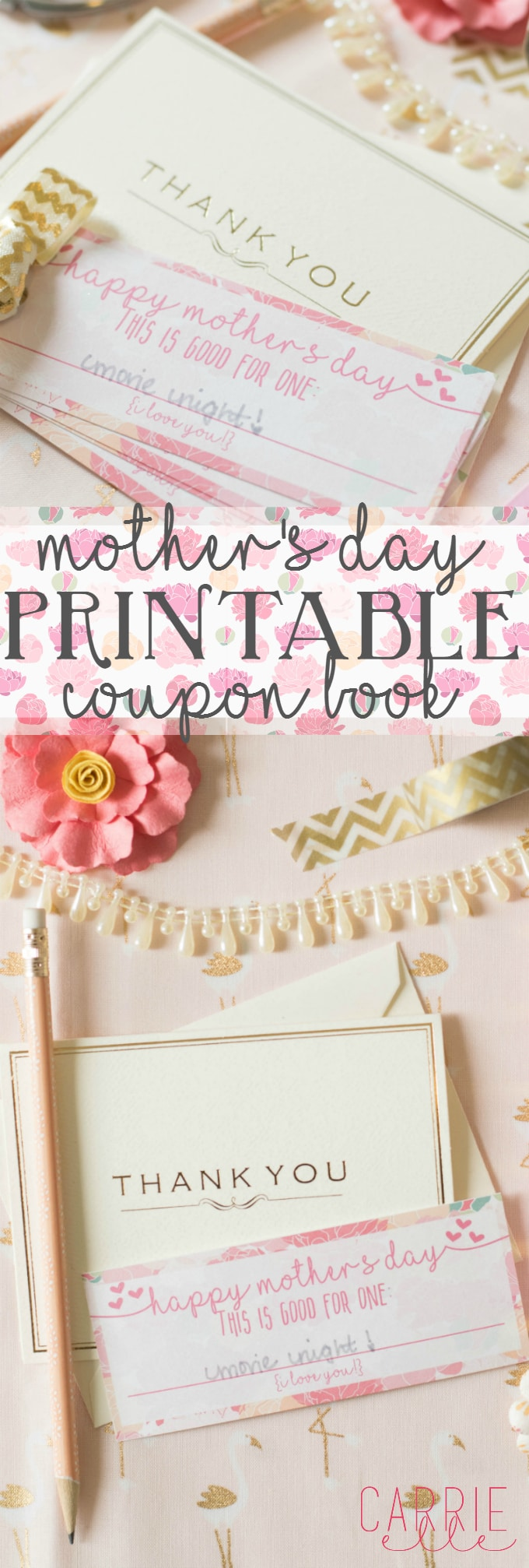 Mother's Day Printable Coupon Book
