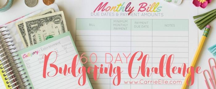 60 Day Budgeting Challenge