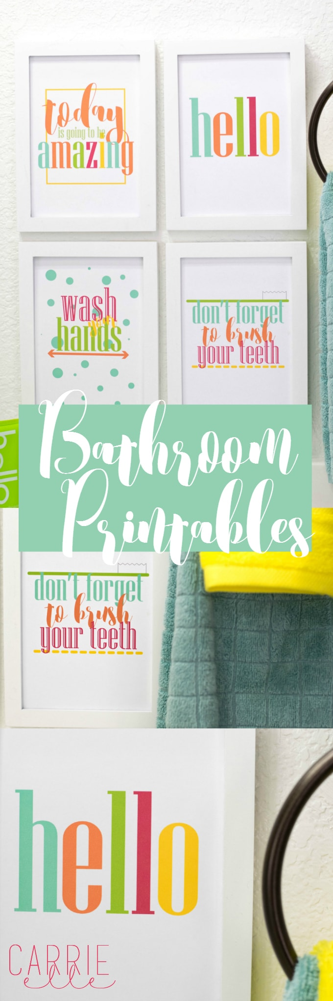 Make Your Bathroom a Happier Place with these Bright Bathroom ...