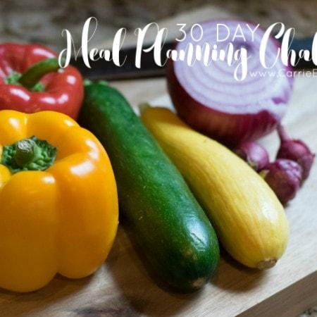 Carrie Elle Meal Planning ChallengeCarrie Elle Meal Planning Challenge