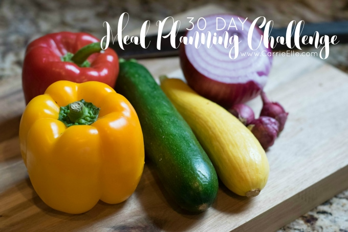 Carrie Elle Meal Planning ChallengeCarrie Elle Meal Planning Challenge