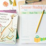 Printable Reading Log for Kids: Summer Reading