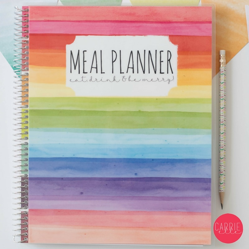 Carrie Elle Meal Planner