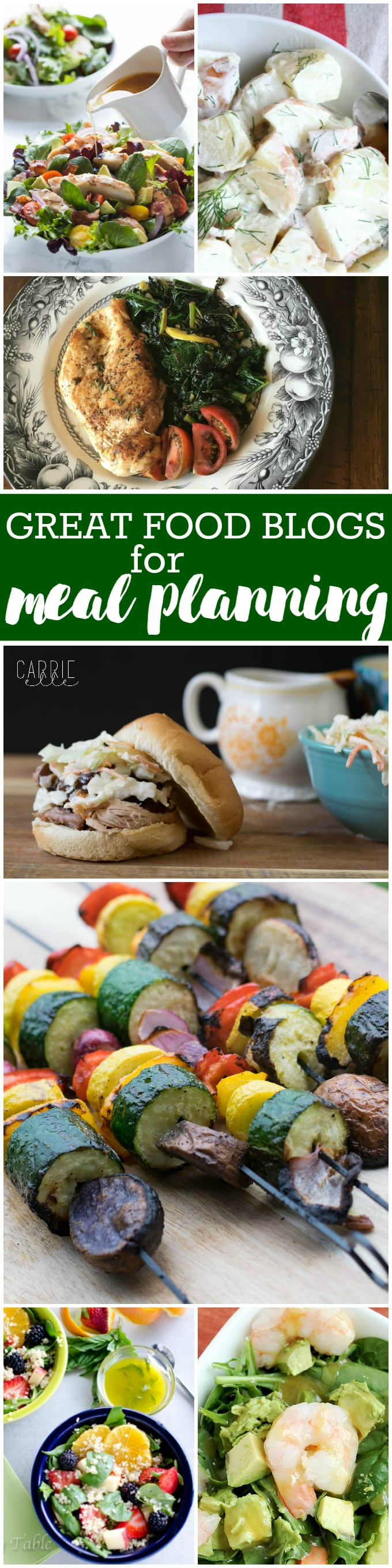 Best food blogs for meal planning carrie elle great food blogs for meal planning forumfinder Image collections