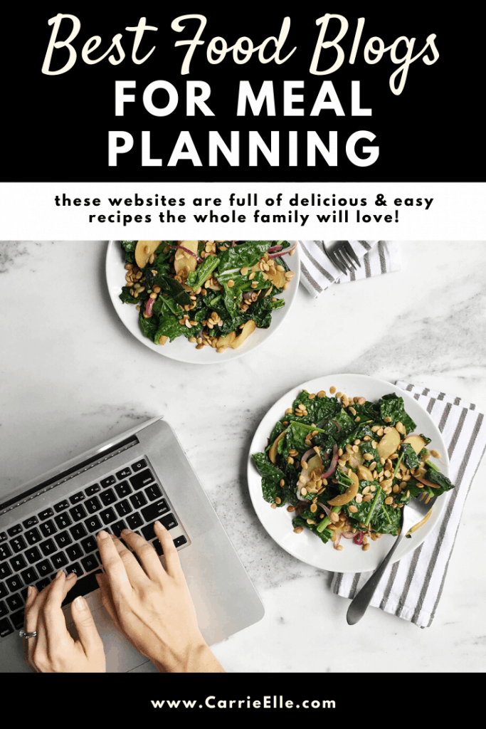 Best Food Blogs for Meal Planning