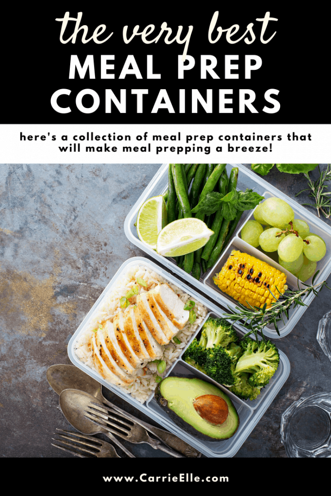 Meal Prep Containers CarrieElle.com