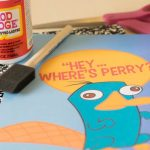 Printable Notebook Cover: Phineas and Ferb