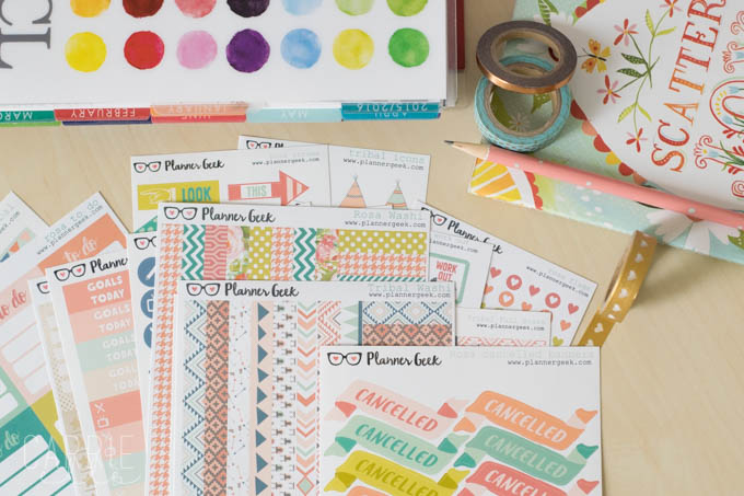 Planner Sticker Shop: Planner Geek on Etsy