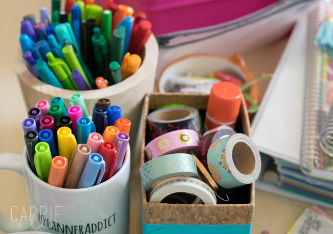 image relating to Planner Supplies named Planner Materials Business: Artistic Ideas - Carrie Elle