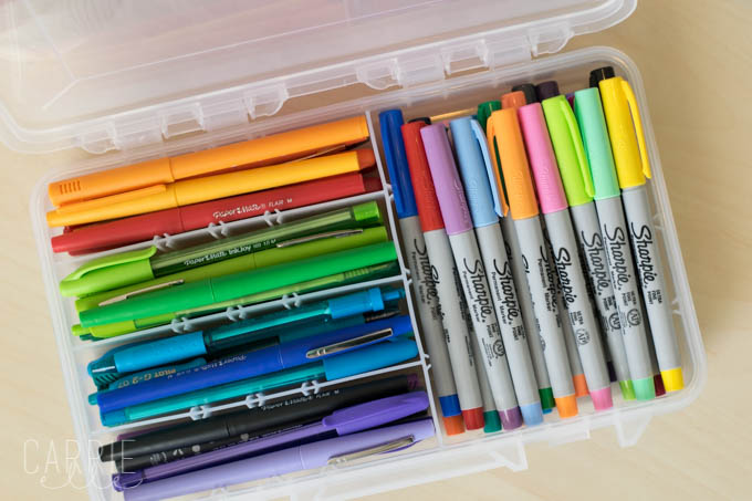 Planner Supplies Organization