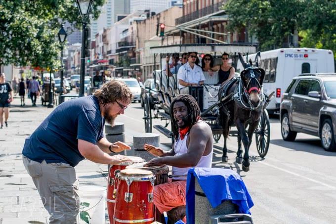 Street Performer New Orleans