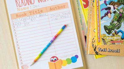 Printable Reading Wish List for Kids