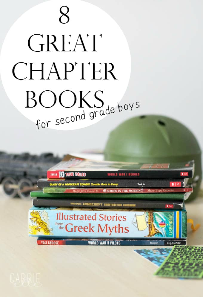 Great Chapter Books for Second Grade Boys