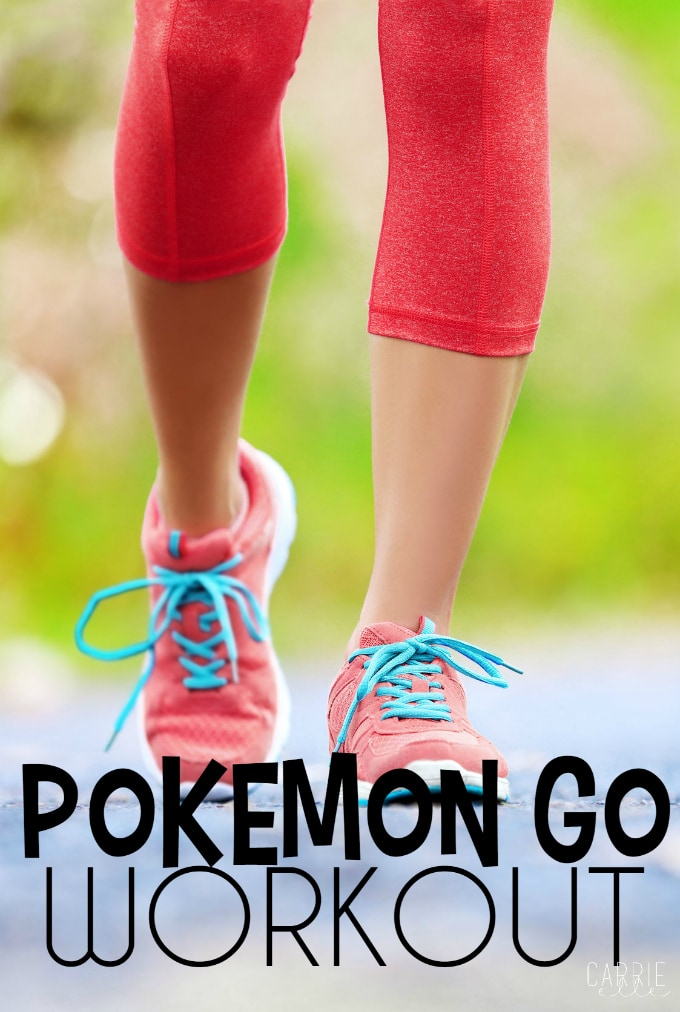 Pokemon Go Workout 2