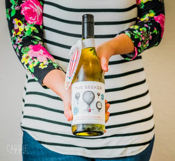 seeker wines are the perfect gift for wine lovers with printable