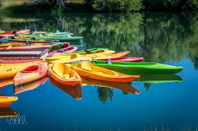 Sunriver Canoe