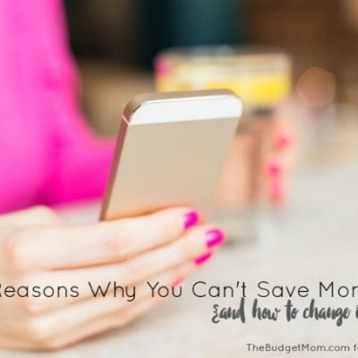 4 Reasons Why You Can't Save Money
