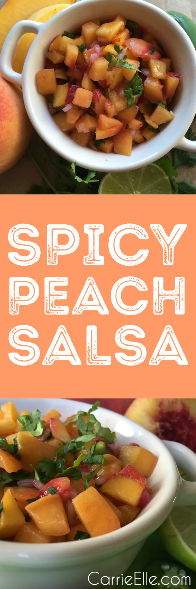 Spicy Peach Salsa Recipe