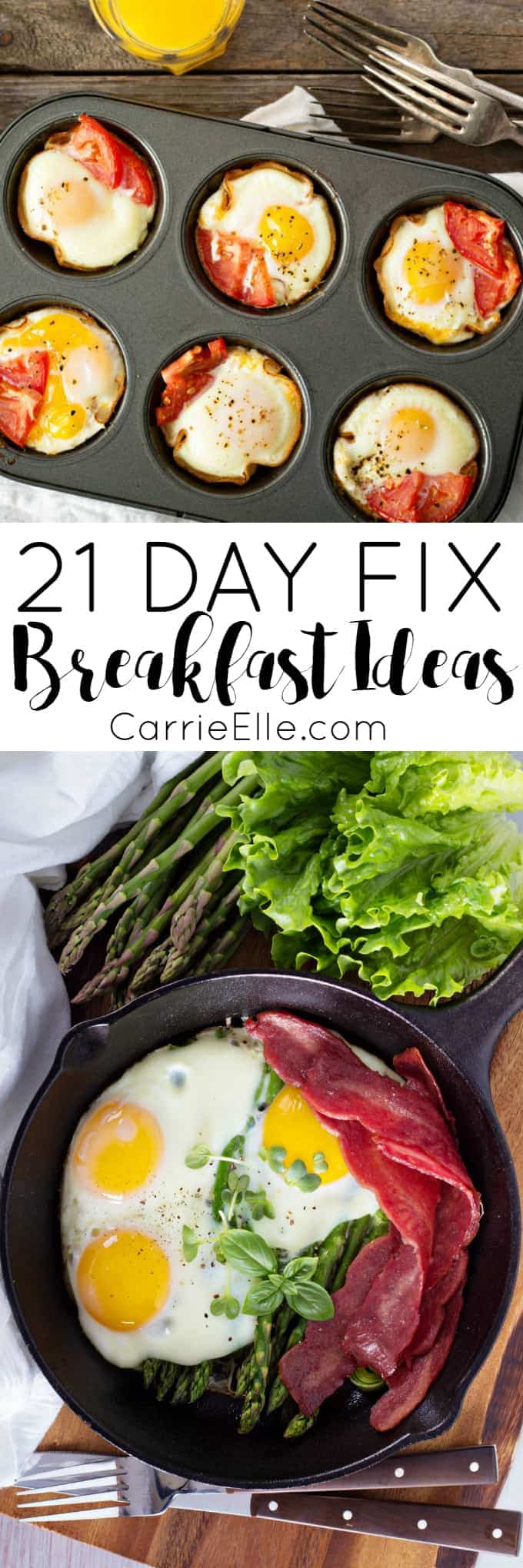21 Day Fix Breakfasts
