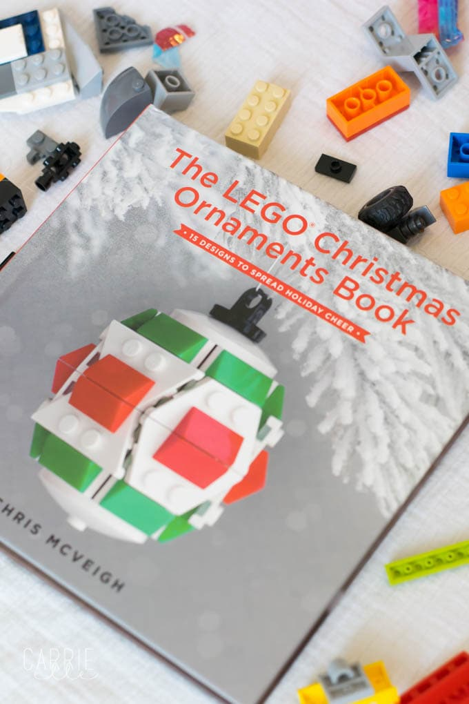 lego christmas ornaments book