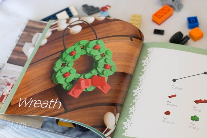 LEGO LOVERS! You'll Love The LEGO Christmas Ornaments Book