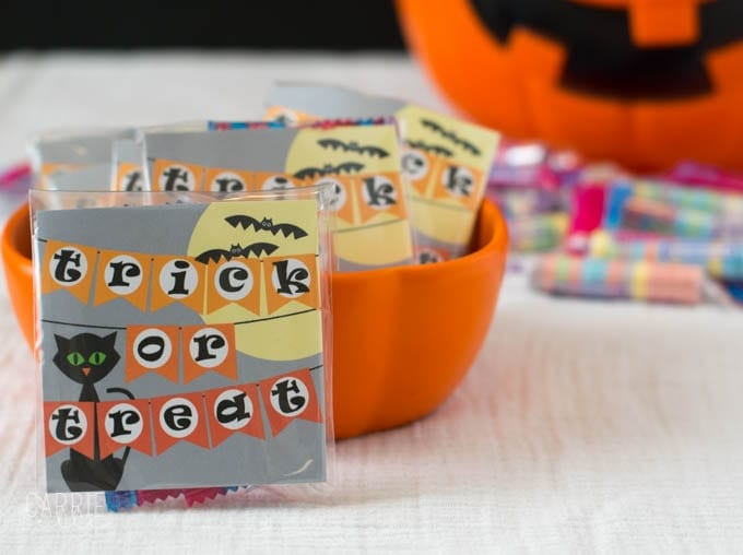 Printable Halloween Treat Bag Labels