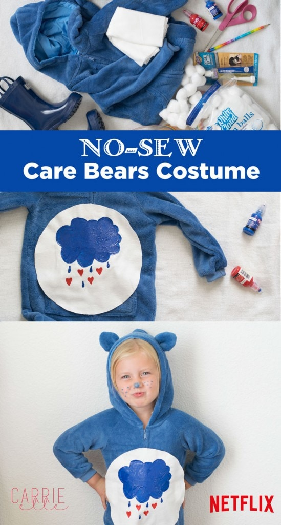 Easy No-Sew Care Bear Costume
