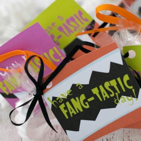 Printable Halloween Treat Bag