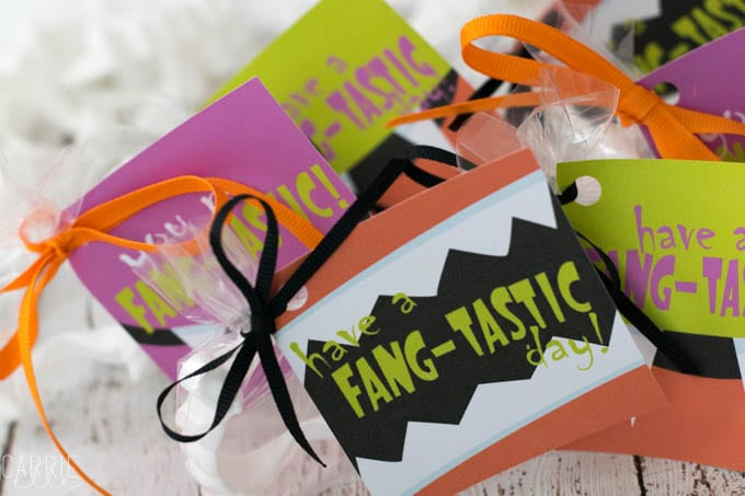 Halloween Treat Bag Printables & Candy-Free Goody Bags