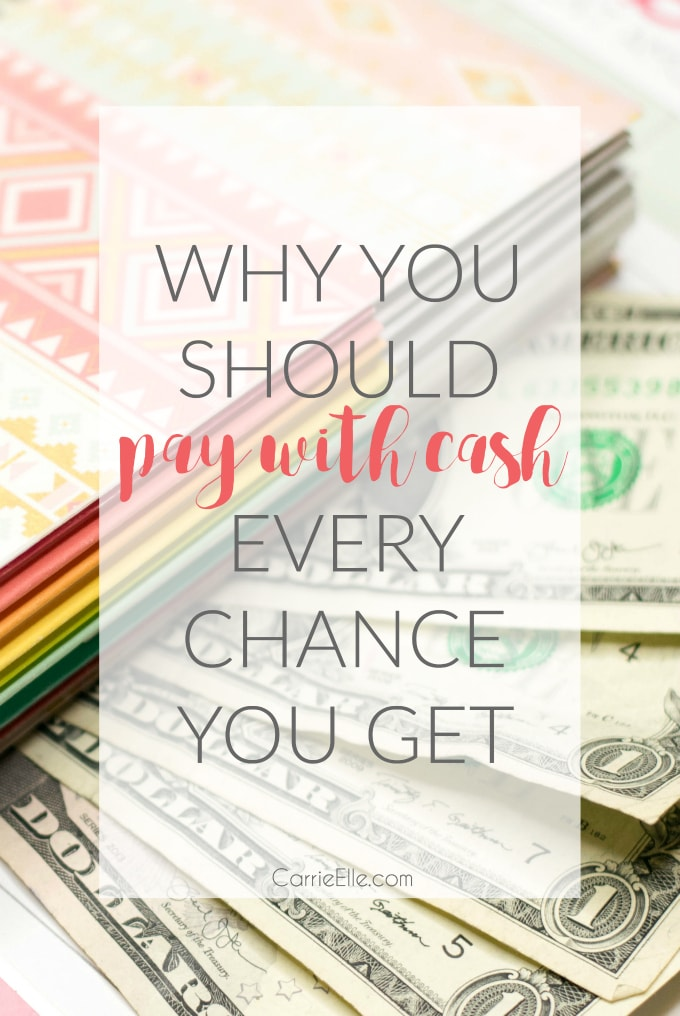 Why You Should Pay Cash Every Chance You Get