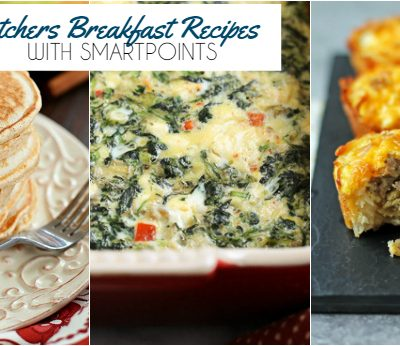 Weight Watchers Breakfast Recipes with SmartPoints