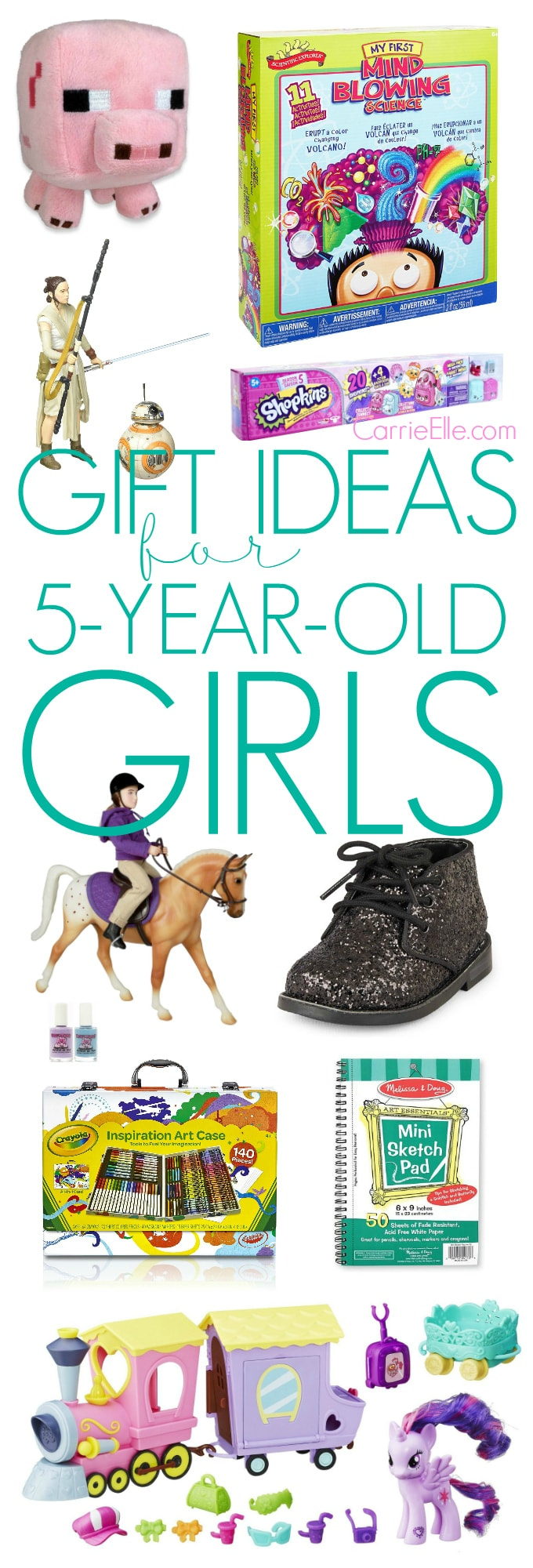 Gift Ideas for Five-Year-Old Girls